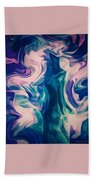 Surrounded By An Aura Of Love Bath Towel