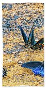 Swallowtail Butterfly Convention Bath Towel