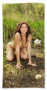 Swamp Beauty Seven Bath Towel