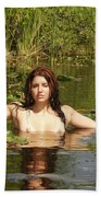 Swamp Beauty Three Bath Towel