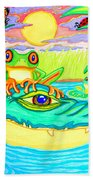 Swamp Life Bath Towel