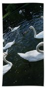 Swan Lake Bath Towel