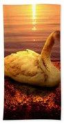 Swan Lake Hand Towel