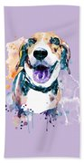 Sweet Beagle Hand Towel