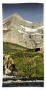 Swiftcurrent Falls Glacier Park 1 Bath Towel