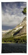 Swiftcurrent Lake Bath Towel