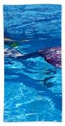 Swimming Mermaid Bath Towel
