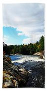 Swirling River Bath Towel