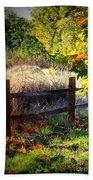 Sycamore Grove Fence 1 Hand Towel