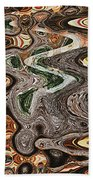Sycamore Tree Abstract # 9283 Bath Towel