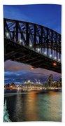 Sydney Harbor Bridge Bath Towel