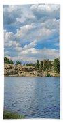 Sylvan Lake South Dakota Bath Towel