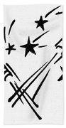 Symbol: Independence Day Bath Towel