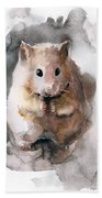 Syrian Hamster Hand Towel