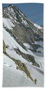 T-104406-b Fred Beckey Below Forbidden Peak Bath Towel
