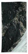 T-504102 1st Ascent On Mt. Shuksan Bath Towel