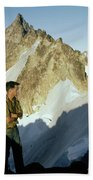 T-504412 Walt Buck Sellers At Bivouac Site Bath Towel
