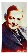 T. S. Eliot, Literary Legend Bath Towel