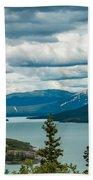 Tagish Lake Bath Towel