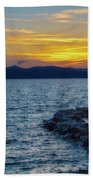 Tahoe Sunset Bath Towel