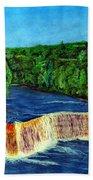 Tahquamenon Falls Bath Towel