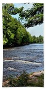 Tahquamenon River Bath Towel