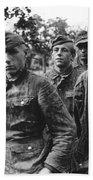taken prisoner in Normandy Bath Towel