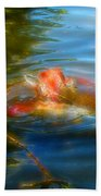 Tale Of The Wild Koi 2  Bath Towel