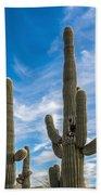 Tall Cacti Bath Towel
