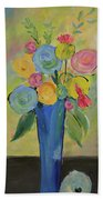 Tall Floral Order Bath Towel