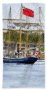 Tall Ships Festival Bath Towel
