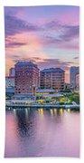 Tampa Bay Panorama  Bath Towel