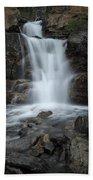 Tangle Creek Falls, Alberta, Canada Bath Towel
