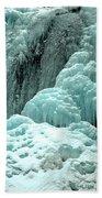 Tangle Falls Frozen Blue Cascades Bath Towel