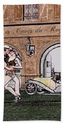 Tango Dancers In The Street Bath Towel