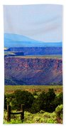 Taos Mountain Glory Bath Towel