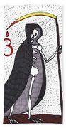 Tarot Of The Younger Self Death Bath Towel