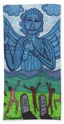 Tarot Of The Younger Self Judgement Hand Towel