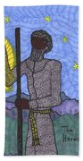 Tarot Of The Younger Self The Hermit Bath Towel