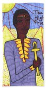 Tarot Of The Younger Self The High Priest Bath Towel
