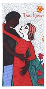 Tarot Of The Younger Self The Lovers Hand Towel