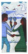 Tarot Of The Younger Self Two Of Cups Hand Towel