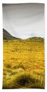 Tasmania Mountains Of The East-west Great Divide  Bath Towel