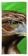 Tawny Eagle Bath Towel