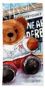Teddy Bear Ince Bath Towel
