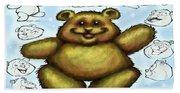 Teddy Bear Bath Towel