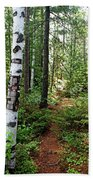 Temagami Island Forest I Bath Towel
