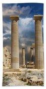 Temple Of Athena Bath Towel