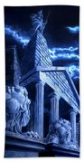Temple Of Hercules In Kassel Bath Towel