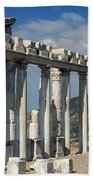 Temple Of Trajan View 3 Bath Towel